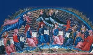 Illustration of Dante's Paradise by Giovanni de Paulo.