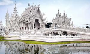 A photo of the White Temple, Chang Rai, Thailand