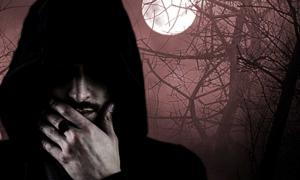 Mysterious man on a creepy night. Who really killed the King?