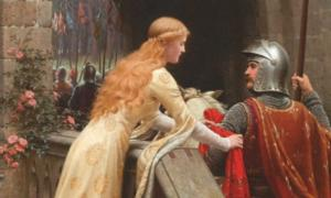 God Speed' (1900) by Edmund Leighton. William the Conqueror's parents may not have been exactly like this knight and lady, but their love story is an interesting one!
