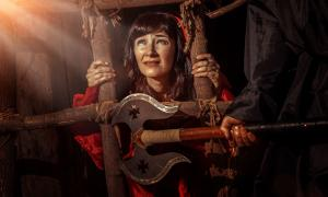 Witch in witches prison known as 'The Cage'. Source: diter / Adobe Stock.