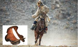 1,500-year-old Perfect Wooden Saddle of Rouran Warrior Found