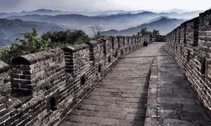 The wall is part of the World's largest construction project that spanned 1000s of miles and 1000 years. Source: siew sin audrey sim/EyeEm / Adobe Stock