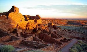 Wupatki National Monument Arizona - First Light.