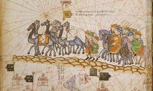 Caravan on the Silk Road, 1380.