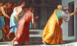 Zeno of Elea shows Youths the Doors to Truth and False. Source: Singinglemon / Public Domain.