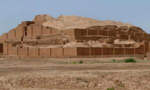 The Ziggurat at Chogha Zanbil