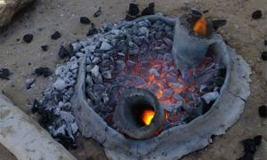 Hi-tech Metal Furnace of the Negev Alchemists Incinerates History