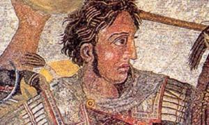 Alexander the Great - tomp Greece