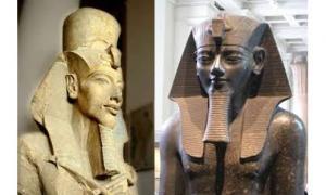 Amenhotep III and Akhenaten - Inscriptions
