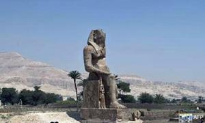 Amenhotep Statue in Luxor