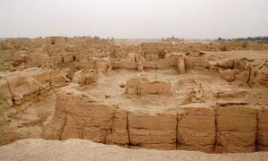 Ancient Chinese city of Loulan