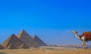 Pyramids in Egypt