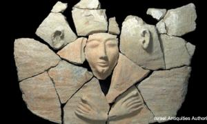 Ancient Egyptian sarcophagus in Israel
