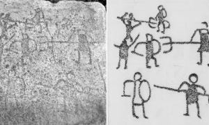 1,500-Year-Old Graffiti reveals Gladiator Battles