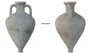 The Greek amphora analysed in the study