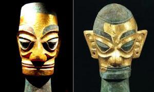 3,000-year-old Sanxingdui artifacts