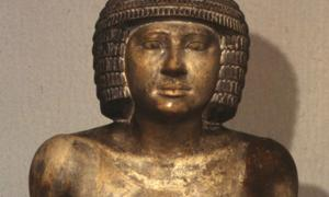 Ancient Sekhemka statue