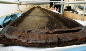 3,500 Year-Old Log Boats