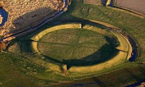 Ancient ring fortress - Vikings