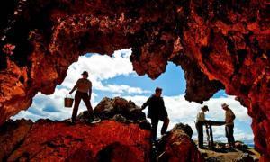 Ancient Oregon caves - Paisley Caves