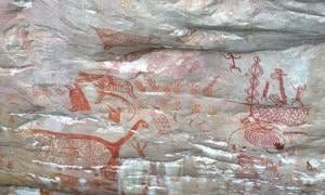 Ancient rock paintings spotted in remote Colombia