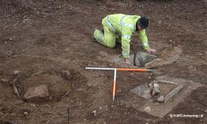 Ancient Scots getting prepared for death