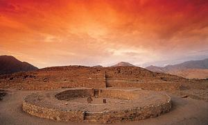 The ancient site of Canal in Peru