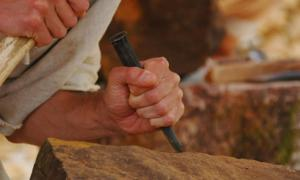 """Are Shamir and Pito the answer to how people performed ancient stonework? Are they the """"green chisel"""" gifted from the gods?          Source: Anjocreatif / Adobe."""