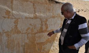 Visions of afterlife in ancient tomb in Egypt