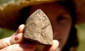 Ancient tools in Australia