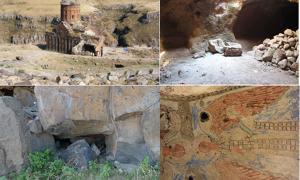 Secret underground tunnels of ancient Mesopotamian cult - Ani ruins