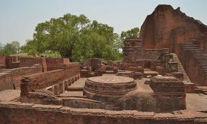 Ancient University of Nalanda in India