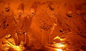 Representational image of human skeletons. The discovery of anomalous skeletons suggests humanity may be older than we think.