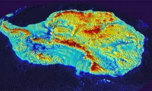 Antarctica's new Map