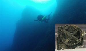 Ancient Antikythera wreck