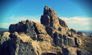 The beautiful and astounding archaeo-astronomical site, Kokino Observatory, or Tatic's Stone.