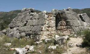 Pyramid in Argos, Greece