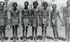 Aboriginals Chained - Australia