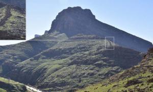 Location of the Gawri Wall in Salmaneh Mount, south-east of Bamu mountain. Source: S. Alibaigi / © Antiquity Publications Ltd, 2019