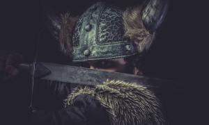 Viking berserker