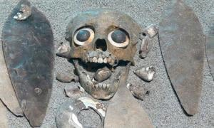 Aztec burial of a sacrificed child at Tlatelolco