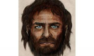 Blue Eyed Caveman