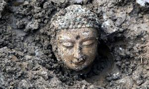 Buddha statues uncovered in China
