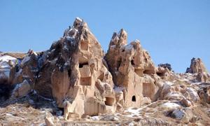 Ancient subterranean city of Cappadocia