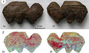 Pieces of the carved mammoth ivory from Siberia analyzed to determine production method. Source: Archaeological Research in Asia