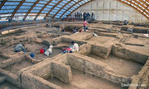 Çatalhöyük in Turkey