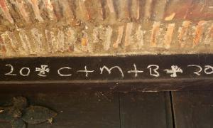 Biblical Tradition Of Chalking The Door Reappears In England