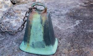 St Finan's Bell. Credit: Seakayaphoto.com