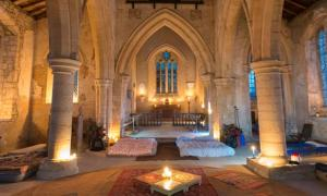 Room with a Pew: 'Champing' Lets You Sleepover in Ancient Churches
